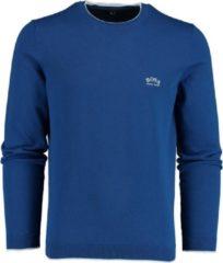 Blauwe Hugo Boss 50440679 Pullover - Maat M - Heren