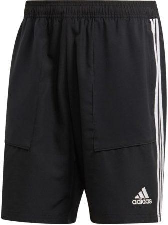 Afbeelding van Adidas tiro19 woven voetbalbroekje zwart/wit heren