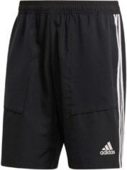 Adidas tiro19 woven voetbalbroekje zwart/wit heren