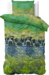 Sleeptime Asian Forest - Dekbedovertrek - Eenpersoons - 140x200/220 + 1 kussensloop 60x70 - Groen