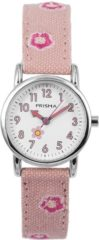 Coolwatch by Prisma CW.324 Kinderhorloge Denim staal/canvas roze 26 mm