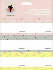 Stationery Team Fashionchick Girls Etiketten: 18 stuks