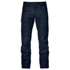 Zwarte Fjällräven - Nils Trousers maat 46 - Long - Raw Length zwart