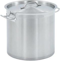 Zilveren VidaXL Kookpan 25 L 32x32 cm roestvrij staal