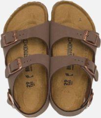 Birkenstock Roma - Slippers - Kinderen - Maat 27 - Bruin