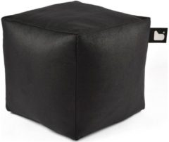 Zwarte B-bag extreme lounging Extreme Lounging B-Box Poef Indoor - Charcoal
