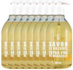 Savon Le Naturel Savon Vloeibare Natuurlijk Handzeep - Original - 8 x 500ml - Multiverpakking