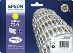 Gele Epson Tower of Pisa Singlepack Yellow 79XL DURABrite Ultra Ink