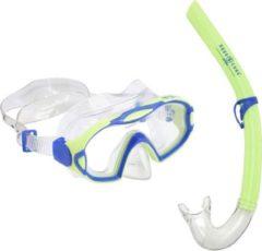 Aqua Lung Sport Meerkat Combo - Snorkelset - Kinderen - Groen/Blauw