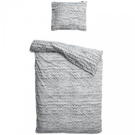 Afbeelding van Grijze Twirre dekbedovertrek Snurk grijs-2-persoons 200 x 220 cm incl. 2 kussenslopen 60 x 70 cm