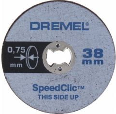 Dremel S409JB SpeedClic Multiset dünn für Multifunktionswerkzeug 2615S409JB