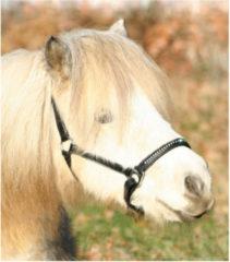 Waldhausen Lerenhalster Diamond Zwart - Paardenhalster - Pony