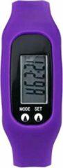 Stappenteller – Horloge – Digitaal – Digitale – LCD – Calorie – Loopafstand – Teller – Pedometer – Compact – Comfortabel – Zwart – Wit – lichtblauw – Oranje - Licht Roze - Donkerblauw - Rood - Paars - Grijs - Geel - Lichtgroen - Turqouise - Cyaan