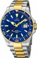 Zilveren Jaguar Zwitsers horloge Executive, J863/C