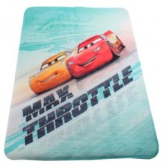 House of Kids Achoka vloerkleed Cars max throttle 70 x 95 cm groen