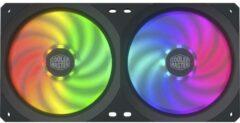 Cooler Master MasterFan SF240R ARGB PC-ventilator Zwart, RGB (b x h x d) 240 x 120 x 25 mm