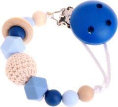 Donkerblauwe Babygifts4you Speenkoord Blauw