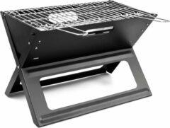 Zwarte Relaxdays Opklapbare Houtskoolbarbecue - Gietijzer