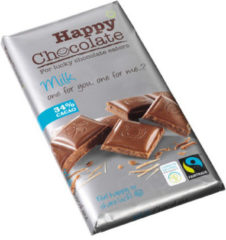 Happy Happy Chocolate Melk 34% Bio (180g)