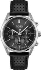 Hugo Boss BOSS HB1513816 CHAMPION - Horloge - Leer - Zwart - Ø 44 mm
