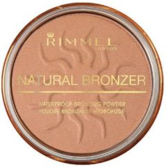 Bruine Rimmel London Natural Bronzer Waterproof 025 Sun Glow