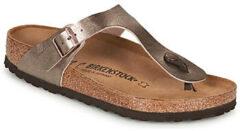 Birkenstock -Dames - brons - slipper - muiltje - maat 35