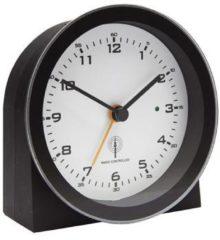 Balance Time wekker HI-TECH, zwart, uurwerk radiosynchronisatie