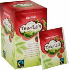 Tea of Life aardbei 4 * 20 zakjes