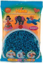 Hama Strijkkralen - Petrol Blauw (201-83), 3000st.