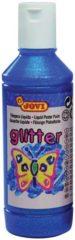 Blauwe Jovi Plakkaatverf Glitter flacon van 250 ml blauw