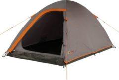 Portal Camping-Zelt Leo 2 Kuppelzelt mit Schlafkabine für 2 Personen Outdoor Trekkingzelt mit Dauerbelüftung, wasserdicht mit 2000mm Wassersäule