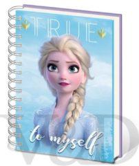 Disney Frozen 2 Sisters A5 Metallic Cover Notitieboek