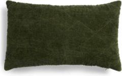 Donkergroene Essenza Sierkussen Billie Dark groen 30x50