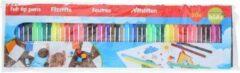 Kangaro 50x Gekleurde viltstiften in mapje - Viltstiften voor kinderen - Kleuren - Creatief speelgoed