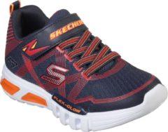 Marineblauwe Skechers Flex-Glow Sneakers Jongens - Navy Red - Maat 33