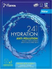 7th Heaven 24H Hour Hydration Anti-Pollution ultra-vochtigheidsmasker 1pcs