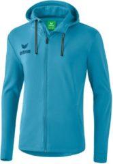 Lichtblauwe Erima Essential Sweatjack - Sweaters - blauw licht - 152