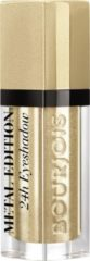 Gouden Bourjois Satin Reveal Metallic Oogschaduw - 07 Or du commun - Goud