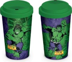 Marvel Hulk Retro Comic Travel Mug