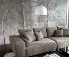 DeLife Lampe Lounge Bigdeal Weiss 180x190 cm höhenverstellbar Bogenleuchte