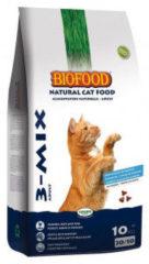 Biofood Kattenbrokjes 3-Mix Mix - Kattenvoer - 10 kg - Kattenvoer