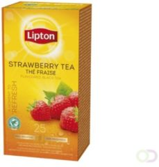 Thee Lipton Strawberry met envelop 25stuks