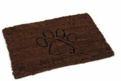 Dog gone smart Dirty Dog Droogloopmat - Hond - Bruin - 90x66 cm