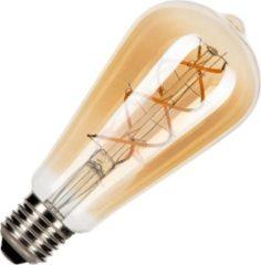 Gouden Bailey spiraal LED filament Edison lamp E27 5W vintage