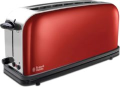 Rode Russell  Hobbs Russell Hobbs Colours 21391-56 - Long Slot Broodrooster - vuurrood