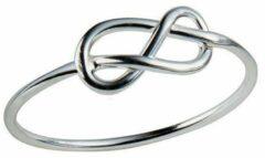 Juulry Zilveren Ring met Knoop Maat 52