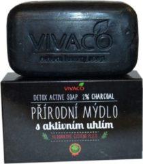 VIVACO Actieve Kool Detox Zeep -100g