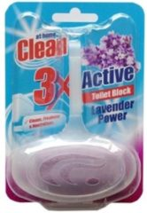 At Home Clean Toiletblok - 40 gr. Lavendel