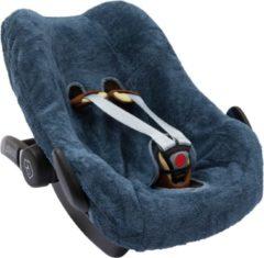 Blauwe Timboo autostoelhoes - Maxi Cosi Pebble gr0+ - Marin
