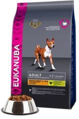 EUKANUBA DOG ADULT MEDIUM BREED CHICKEN HONDENVOER #95; 12 KG